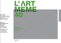 CHRONIQUE DES ARTS PLASTIQUES DE LA COMMUNAUTÉ FRANÇAISE DE BELGIQUE 3e  TRIMESTRE 2008 Pour nous informer de vos activités, d 098beea3e84a